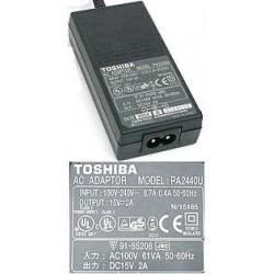 TRAGBARES LADEGERÄT TOSHIBA 15V 90W 2A 6.3x3.0