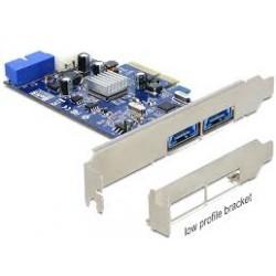 TARJETA PCIe DELOCK USB 3.0