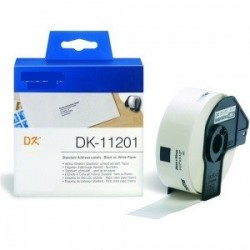 Blanco 29mmX90mm 400psc paraBrother P-Touch QL1000 1050 1060