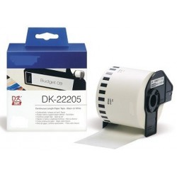 Blanco 62mmX30.48mm  para Brother P-Touch QL1000 1050 1060