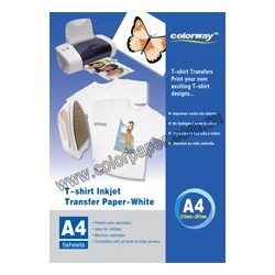 White T-shirt transfer paper
