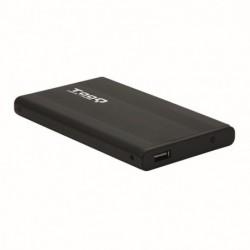 """TOOQ TQE-2510B CAJA HD 2.5"""" SATA USB 2.0 NEGRA"""