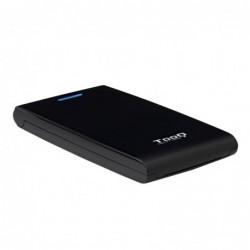 """TOOQ TQE-2526B CAJA HD 2.5"""" SATA3 USB 3.0 NEGRA"""