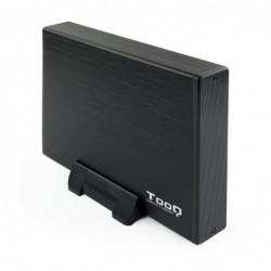 """TOOQ TQE-3527B CAJA HDD 3.5"""" SATA3 USB 3.0 NEGRA"""