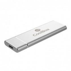COOLBOX CAJA SSD M.2 NVME MINICHASE N31  USB 3.1