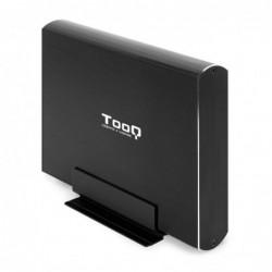 """TOOQ TQE-3531B CAJA HDD 3.5"""" USB 3.1GEN1 NEGRA"""