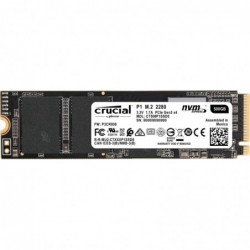 CRUCIAL CT500P1SSD8 P1 SSD 500GB  NVME PCIE
