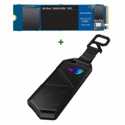 DISCO SSD WD NVME 1TB + CAJA ASUS USB 3.2 TIPO C