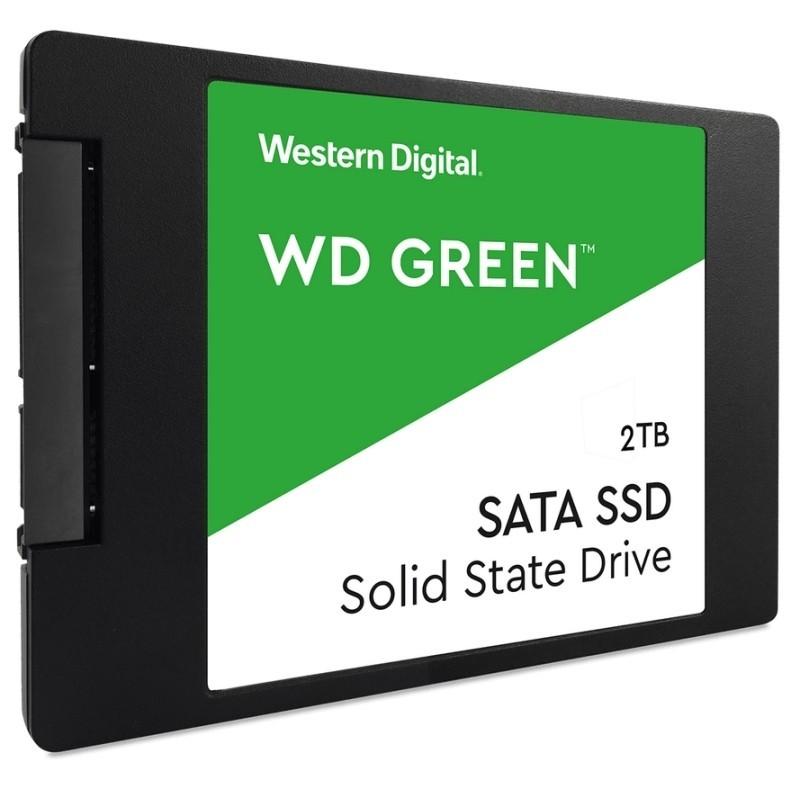 WESTERN DIGITAL WDS200T2G0A SSD 2TB SATA3 GREEN